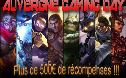 Auvergne Gaming Day