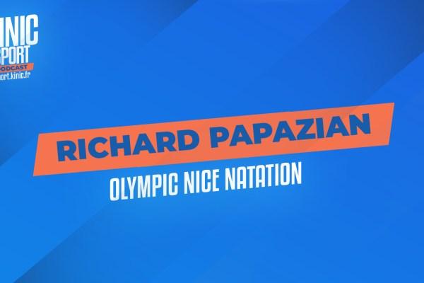Richard Papazian de l'Olympic Nice Natation