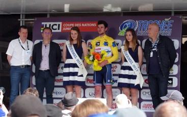 Florentin Lecamus Lambert vainqueur en 2017 du Trophee Centre Morbihan
