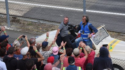 Le champion cycliste Bernard Hinault invite d honneur a Loheac
