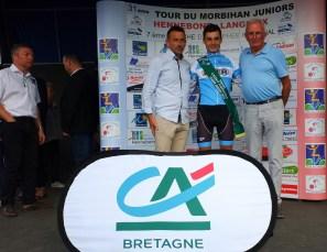 Tom Aguillon leader du Trophee Credit Agricole Mozaic Juniors 2019