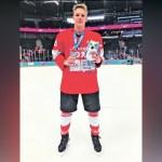 Srpski hokejaš Matija Dinić proslavio Srbiju!