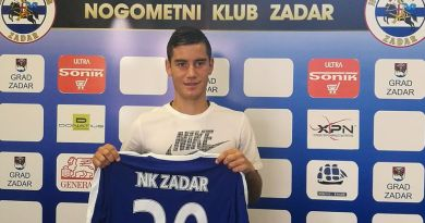 Kristijan Jurić novi je član Nogometnog kluba Zadar