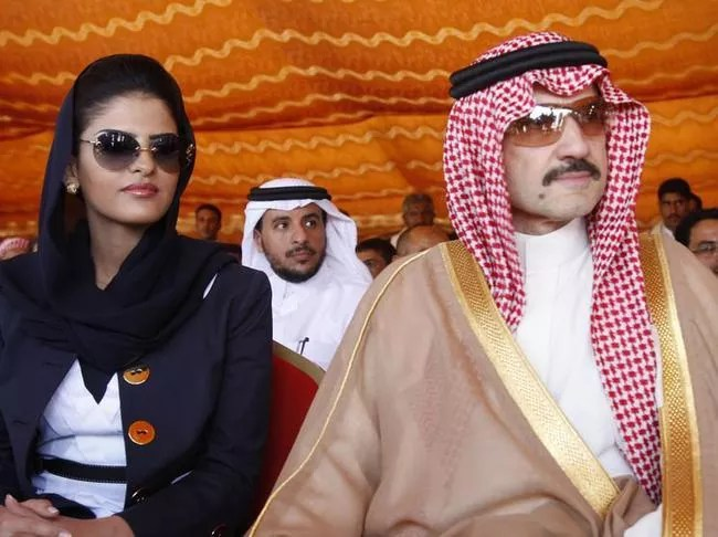 Al-Walid Bin Talal Bin Abdelaziz Al Saoud/femme