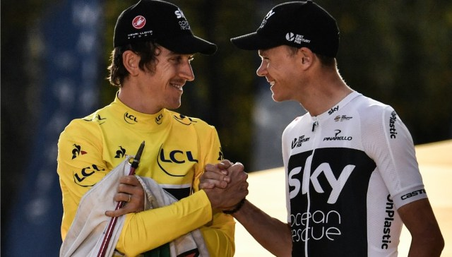 Thomas had plenty of praise for teammate Chris Froome following his Tour de France triumph.