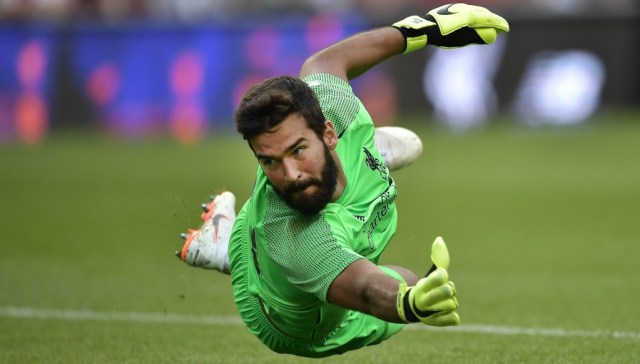 Alisson arrived at Liverpool for a short-lived world record fee for a keeper