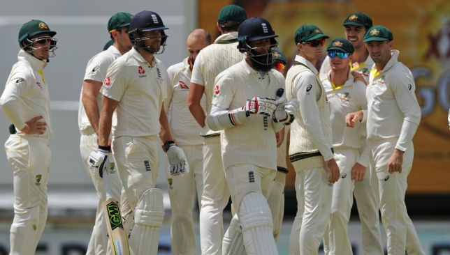 Moeen Ali claims he was called 'Osama' by an Aussie player.