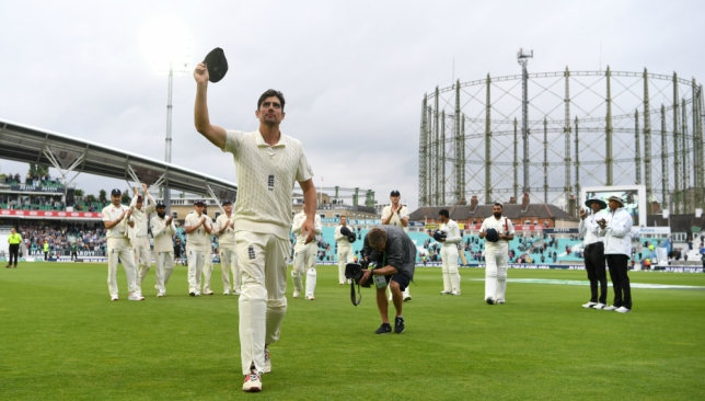 Alastair Cook retired as England's all-time leading run-scorer in Tests.