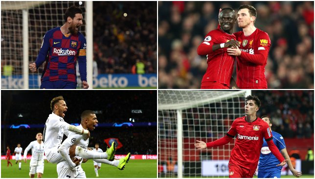 European Team of the Season 2019/20: Lionel Messi and Kylian Mbappe joins four Liverpool stars - Sport360 News