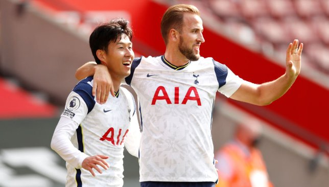 Son's partnership with Harry Kane this season has been deadly
