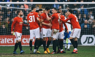 Tranmere Rovers 0 - 6 Manchester United