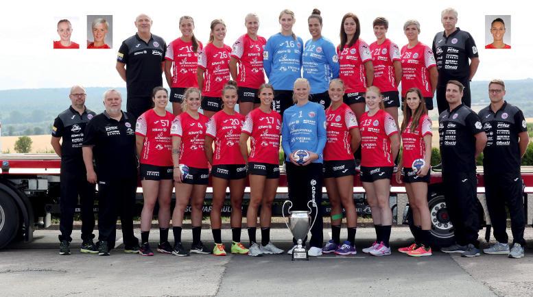 Thüringer HC - Handball Saison 2018-2019 - Bundesliga - EHF Champions League - Foto: Thüringer HC