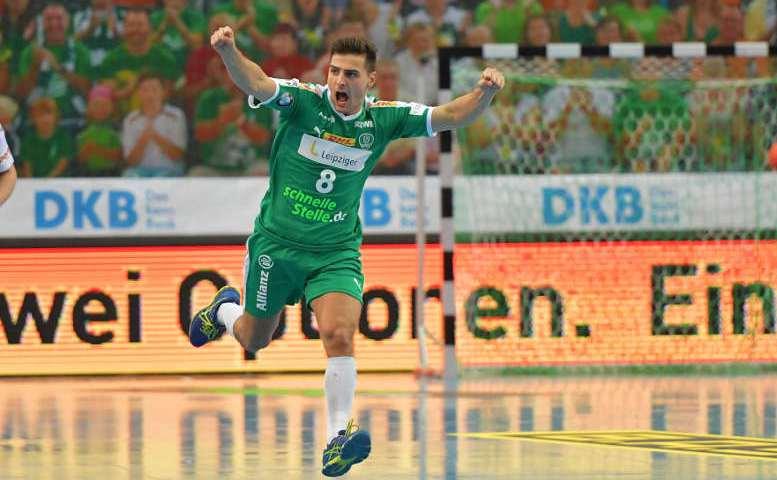 Lucas Krzikalla - SC DHfK Leipzig - Foto: SC DHfK Leipzig
