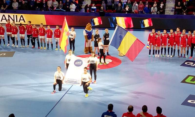 Handball EM 2018 - Spanien vs. Rumänien - Nancy am 11.12.2018 - Foto: SPORT4FINAL