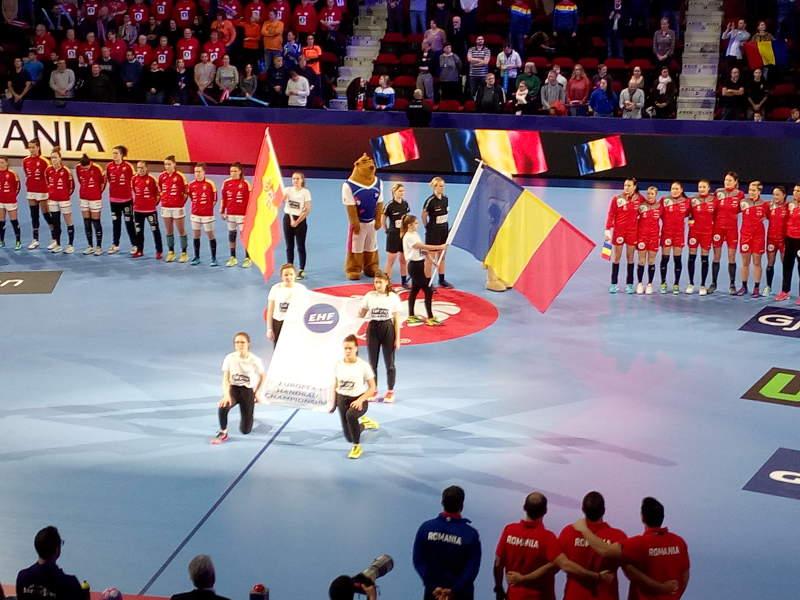 Handball EM 2018 - Spanien vs. Rumänien - Nancy am 11.12.2018 - Foto: SPORT4FINAL