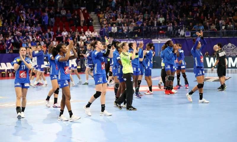 Handball EM 2018 - Frankreich vs. Russland - Nantes am 29.11.2018 - Copyright: FFHandball / S.Pillaud