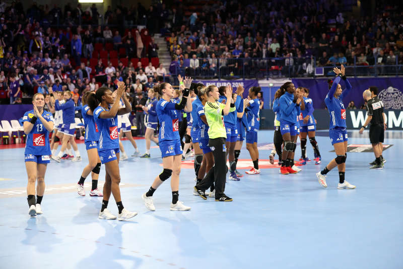 Handball EM 2018 - Frankreich vs. Russland - Nantes am 29.11.2018 - Copyright: FFHandball / S.Pillaud