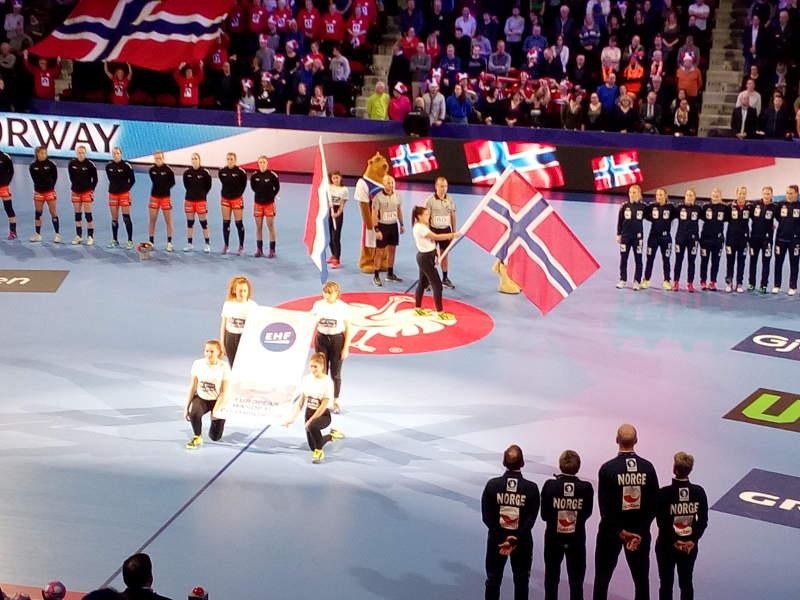 Handball EM 2018 - Norwegen vs. Niederlande - Nancy am 11.12.2018 -Foto: SPORT4FINAL