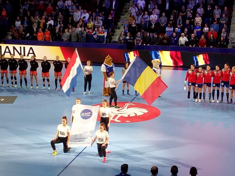 Handball EM 2018 - Rumänien vs. Niederlande - Nancy am 09.12.2018 - Foto: SPORT4FINAL