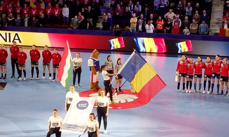 Handball EM 2018 - Ungarn vs. Rumänien - Nancy am 12.12.2018 - Foto: SPORT4FINAL