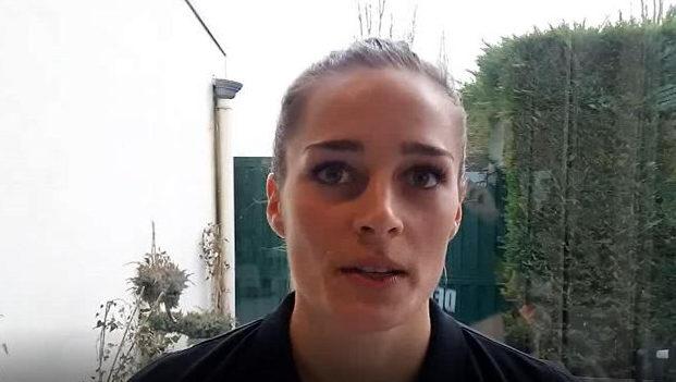 Handball EM 2018 - Dinah Eckerle - Deutschland - Medientag am 08.12.2018 in Nancy - Foto: SPORT4FINAL