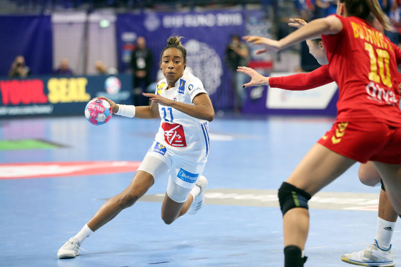 Handball EM 2018 - Estelle Nze Minko - Frankreich vs. Montenegro - Copyright: FFHandball / S. Pillaud