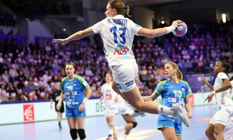 Handball EM 2018 - Manon Houette - Frankreich vs. Slowenien - Copyright: FFHandball / S. Pillaud