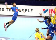 Handball EM 2018 - Orlane Kanor - Frankreich vs. Schweden - Copyright: FFHandball / S. Pillaud