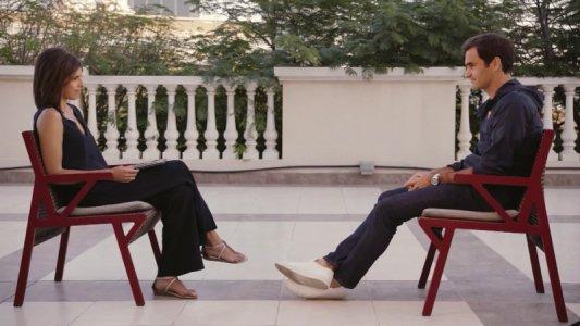 CNN World Sport - Roger Federer und Christina MacFarlane - Quelle: CNN Sport