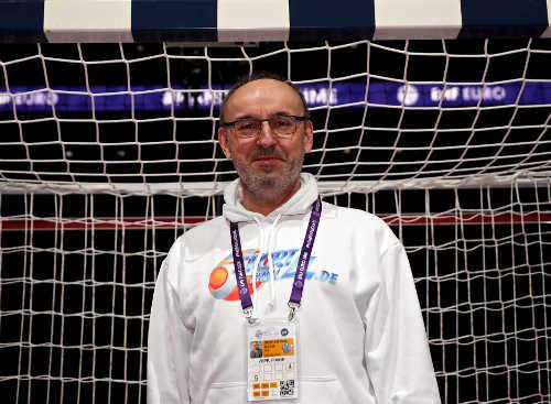 Frank Zepp - Handball EM 2018 Frankreich - AccorHotels Arena Paris - Foto: Joachim Schütz (http://www.stregspiller.com)