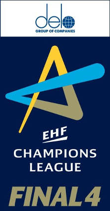 DELO Logo - Frauen EHF Champions League - Foto: EHF Media