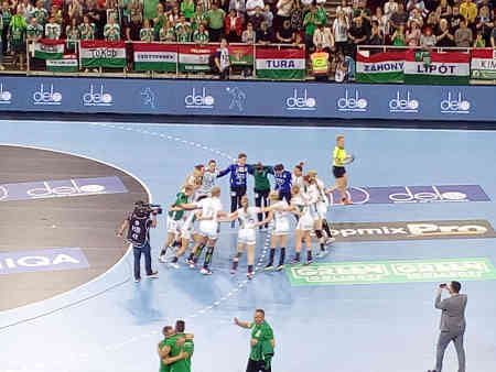 Györi Audi ETO KC - Halbfinale EHF Final4 - Foto: SPORT4FINAL