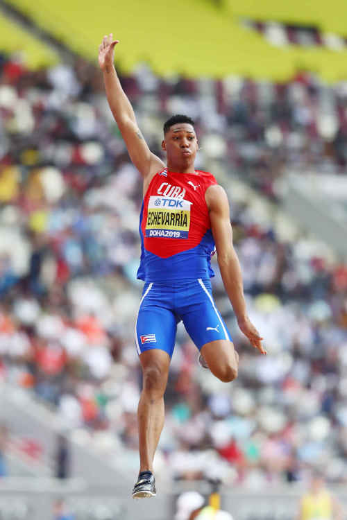 Leichtathletik WM 2019 - Juan Miguel Echevarria - Foto: © Getty Images for IAAF