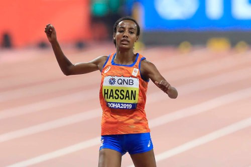 Leichtathletik WM 2019 - Sifan Hassan - Foto: © Getty Images for IAAF