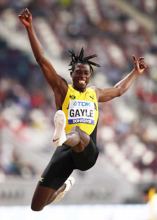 Leichtathletik WM 2019 - Tajay Gayle - Foto: © Getty Images for IAAF