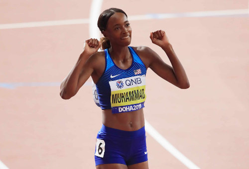 Leichtathletik WM 2019 - Dalilah Muhammad - Foto: © Getty Images for IAAF