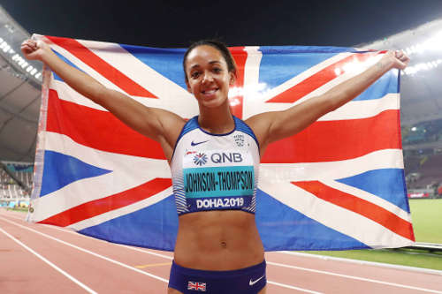 Leichtathletik WM 2019 - Katarina Johnson-Thompson - Foto: © Getty Images for IAAF