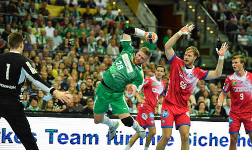 SC DHfK Leipzig vs. TBV Lemgo Lippe - Handball Bundesliga - 17. Oktober 2019 in Arena Leipzig - Foto: Rainer Justen