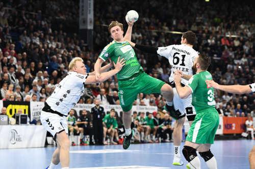 Franz Semper - THW Kiel vs. SC DHfK Leipzig - Handball Bundesliga am 24.11.2019 in der Sparkassen Arena Kiel - Foto: Rainer Justen