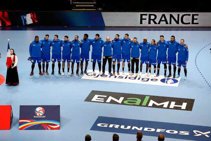 Handball EM 2020 - Frankreich vs. Portugal - Foto: FFHandball / S. Pillaud
