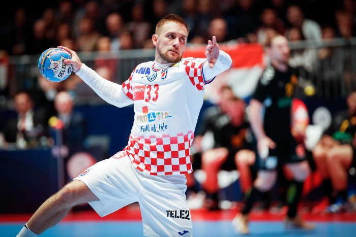Handball EM 2020 - Luka Cindric - Kroatien vs. Montenegro - Foto: hrsphoto.photodeck.com