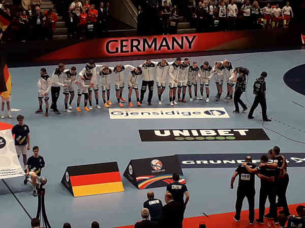 Handball EM 2020 - Team Deutschland vs. Tschechien - Copyright: SPORT4FINAL