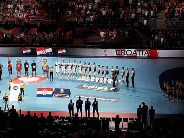 Handball EM 2020 - Team Kroatien vs Norwegen - Copyright: SPORT4FINAL