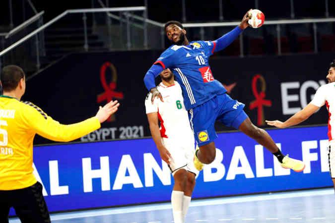 Handball WM 2021 – Frankreich vs Algerien – Copyright: FFHANDBALL / S.PILLAUD