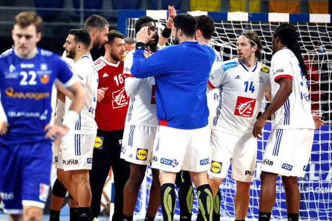 Handball WM 2021 – Frankreich vs Island – Copyright: FFHANDBALL / S.PILLAUD