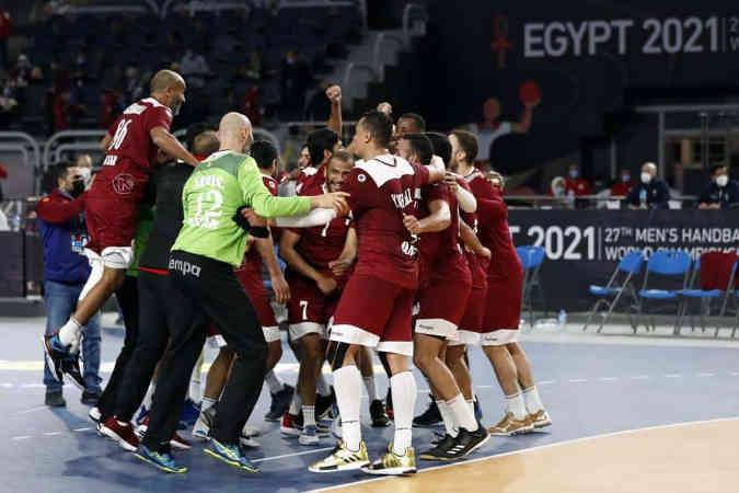Handball WM 2021 Ägypten – Katar (im Bild) vs. Argentinien – Copyright: © IHF / Egypt 2021