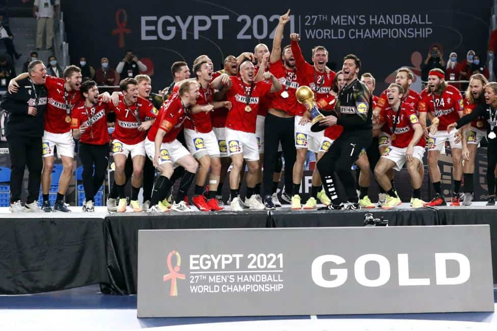 Handball WM 2021 Ägypten Abschlussfeier - Dänemark Weltmeister - Copyright: © IHF / Egypt 2021
