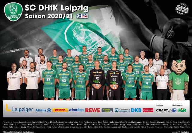 SC DHfK Leipzig – Handball Bundesliga Saison 2020-2021 – Copyright: SC DHfK Leipzig