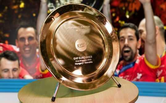 Handball EM 2022 Männer Auslosung – Copyright: EHF Media / DIENER / Eva Manhart