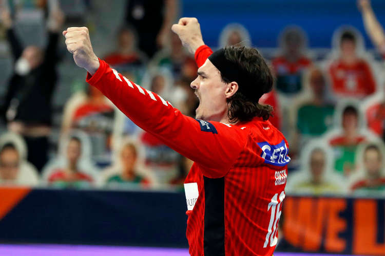 Handball EHF Finals 2021 – Jannick Green MVP – SC Magdeburg vs. Füchse Berlin – Copyright: EHF/Stephane Pillaud